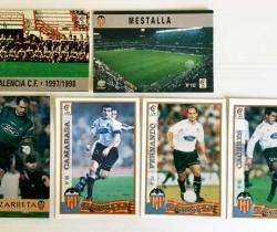 Lote 6 fichas Las Fichas de la Liga 97/98 Mundi Cromo