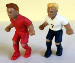 Lote 2 figuras jugadores Euro 2000 – Cereales Nestlé