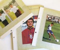 Lote 18 fotografías Selección Española de Fútbol – 1998