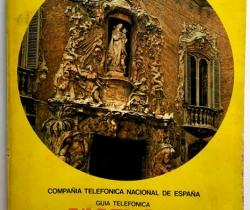 Guía telefónica Valencia Tomo 2 – 1979 – Sección profesional mercantil e industrial