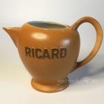 Antigua jarra Ricard. Cerámica. Made in France. Años 70. Numerada.