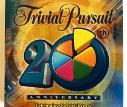 Trivial Pursuit 20th Anniversary – Aniversario – En inglés – Parker – Hasbro