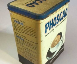Antigua lata de Phoscao, años 60 – Alimento tónico general – Lentejas