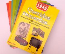 Lote de 8 libros Colección Queridos recuerdos… Plus es más – Buenas Letras