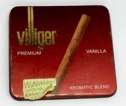 Caja metálica cigarros Villiger Premium Vanilla