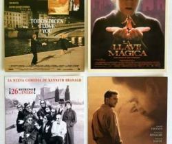 Lote 4 postales películas – La llave mágica – Lo más crudo del… – El paciente inglés – Todos dicen I Love You – Años 90