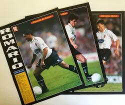 Lote 3 posters Valencia CF – El Gol Semanal 1997