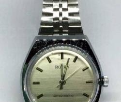 Reloj de pulsera ROCKY – Antimagnetic – Stainless Steel – años 90