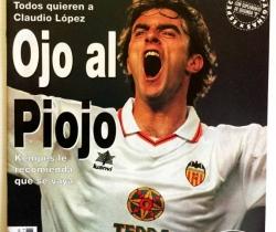 Revista Don Balón Marzo 1999 Nº1221 Piojo López en portada