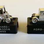 Lote 2 sacapuntas coches clásicos – colección años 70