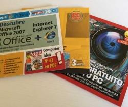 Lote de 3 CDS programas variados – PC Today – Computer Idea – PC Actual