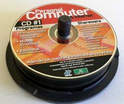 Tarrina con 17 CDS de programas variados – Personal Computer – PC Today – Computer Idea