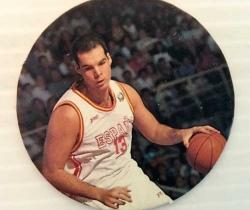 Tazo Nº85 de la Selección Española de Baloncesto Ferran M. 1995