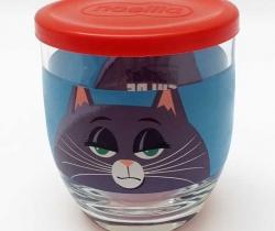 Vaso de Nocilla Mascotas 2 – Gato – Con tapadera – Universal Studios